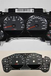 Gauge Face Kit With Installation Instructions Included