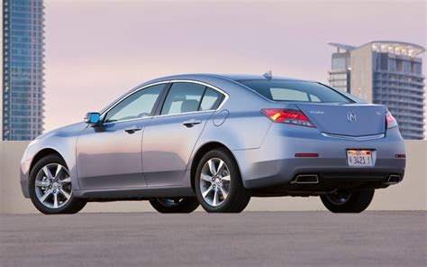 Acura Tl 2012 Price by 2012 Acura Tl Pricing Starts At 36 465