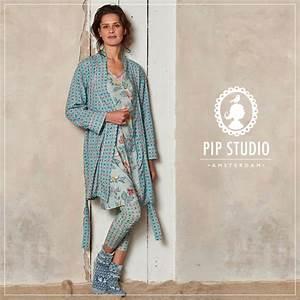 Pip Studio Homewear : homewear und loungewear von essenza und pip studio sunny news ~ Sanjose-hotels-ca.com Haus und Dekorationen