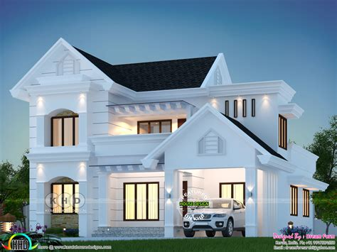 december  house designs starts  kerala home