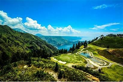 Indonesia Sumatra Toba Lake Astronomis Letak Nature
