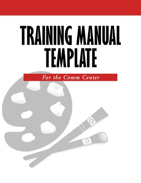 Trainer Manual Template by 5 Free Manual Templates Excel Pdf Formats