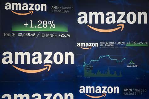 Amazon Hits  Trillion In Market Value
