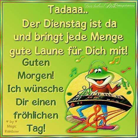 green pictures dienstag
