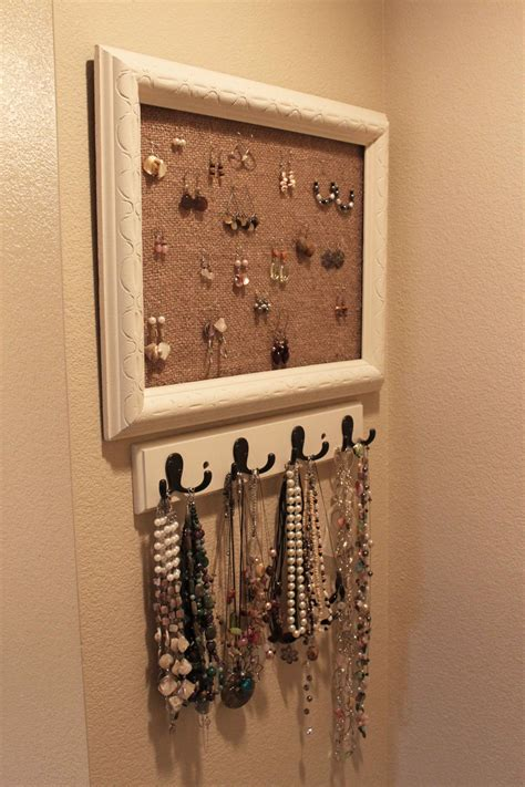 diy jewelry holder pinching  penniespinching