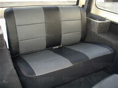 Suzuki Samurai Seat Covers by Suzuki Samurai 1986 1993 Leather Like Custom Seat Cover Ebay
