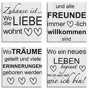 Leinwandbilder Mit Sprüchen : top 9 bilder mit spr chen poster kunstdrucke sivelo ~ Watch28wear.com Haus und Dekorationen