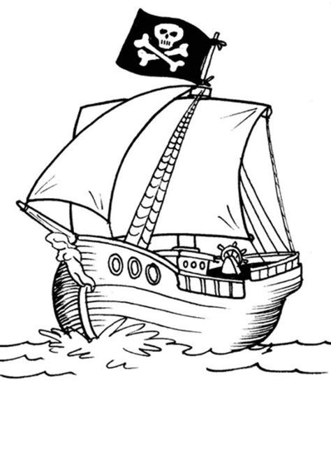 piratenschiff malvorlagen kostenlos zum ausdrucken