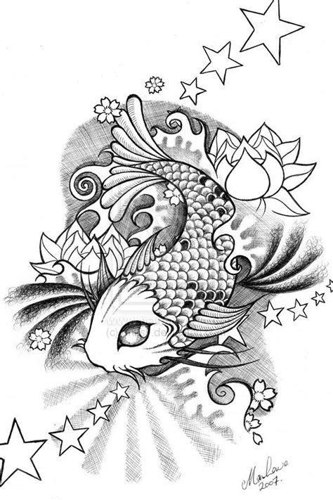 koi  onksydeviantartcom  images drawings easy