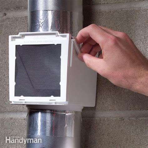 properly vent  dryer  family handyman