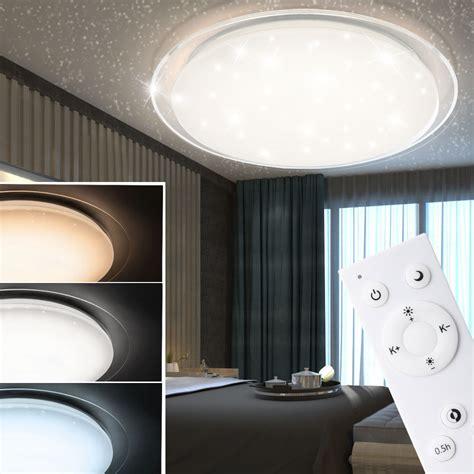 Led Deckenlen Wohnzimmer by Led Decken Leuchte Sternen Himmel 3 Stufen Dimmer