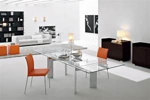 Designer Glastische Esszimmer : salle manger moderne avec des meubles sympas 29 id es ~ Sanjose-hotels-ca.com Haus und Dekorationen