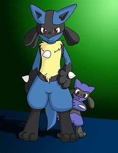 Riolu And Lucario Father And Son | www.pixshark.com ...