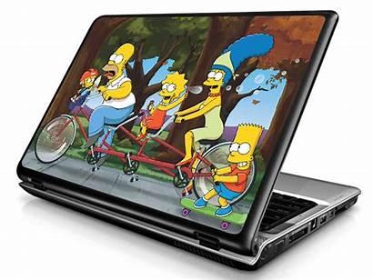 Notebook Adesivo Adesivos Simpsons Os Modelo Computador