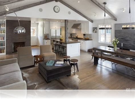 open living house plans open concept kitchen living room and dining ideas living