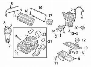 Chrysler Aspen Engine Timing Cover  Liter  Cab  Hybrid