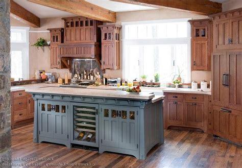 Prairie style kitchen photos