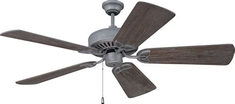 aged wood ceiling fan craftmade k11223 cxl aged galvanized indoor 54 quot home