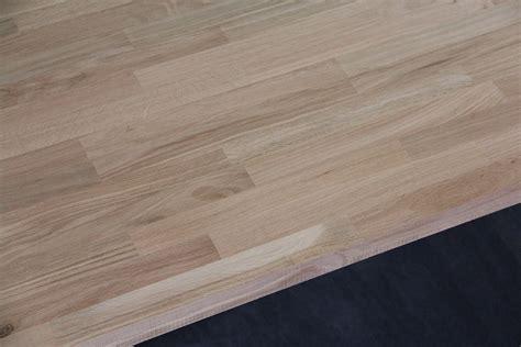 Arbeitsplatte  Küchenarbeitsplatte Massivholz Eiche Natur