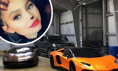 kylie jenner shows   sports cars