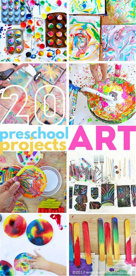 20 preschool projects babble dabble do 825 | 20 Pre K Art Projects PIN