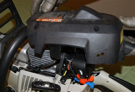 replace  chainsaw carburetor repair guide