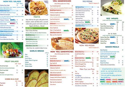 carte cuisine healthy food menu gallery