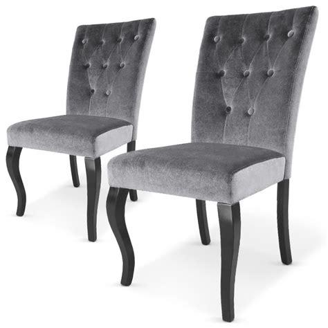 chaise capitonn chaise capitonné velours chaise idées de décoration de