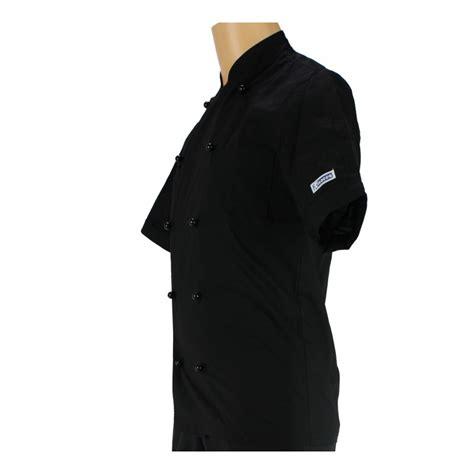 veste de cuisine manche courte veste de cuisine noir manche courte et légère pour homme