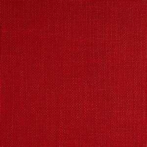 European Faux Linen Upholstery Carmine Red - Discount