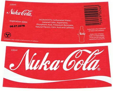 nuka cola label  nig   deviantart