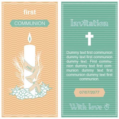 communion invitation templates 11 communion invitations psd ai illustrator