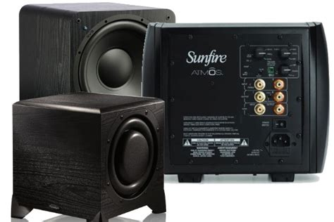 Small Subwoofers Can Fit Into Any Media Room Or Home Theater