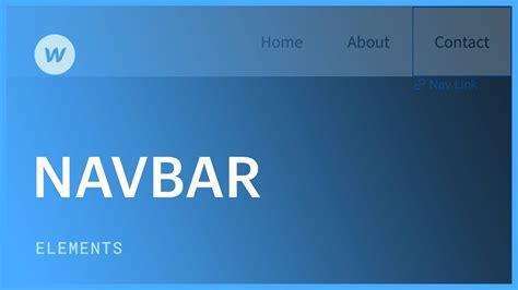 responsive navigation bar web design tutorial youtube