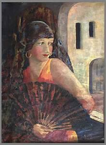 Art, Deco, Self, Portrait, California, 1930s, Original, Frame
