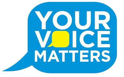 Your Voice your voice matters community survey