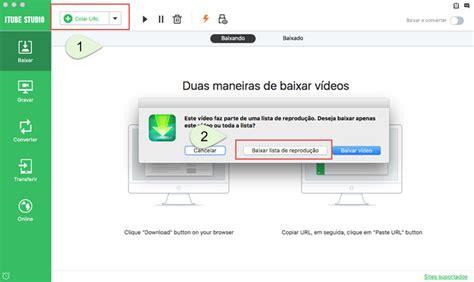 como baixar uma playlist de videos do youtube