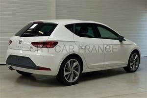 Seat Leon Blanche : seat leon 1 8 tfsi 180 start stop blanc voiture en leasing pas cher citycar paris ~ Gottalentnigeria.com Avis de Voitures