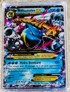 pokemon mega blastoise ex card images