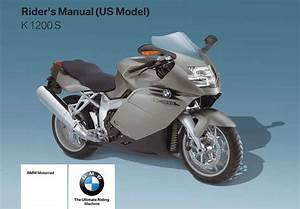 Bmw K 1200 S 2007 Owner U2019s Manual