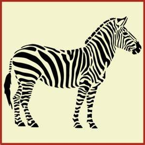 Printable Zebra Stencil - ClipArt Best