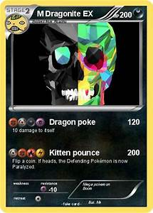 Pokémon M Dragonite EX 19 19 - Dragon poke - My Pokemon Card