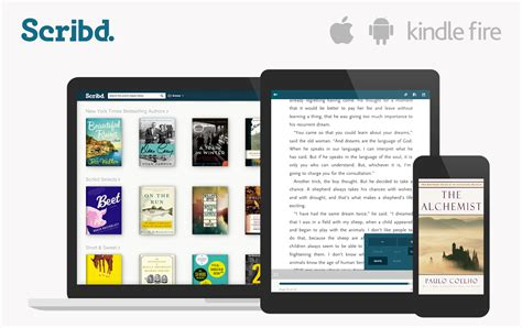 scribd releases kindle app updates ios and android