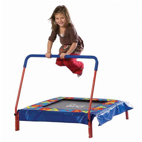 shop pure fun  ft square multicolor kids trampoline
