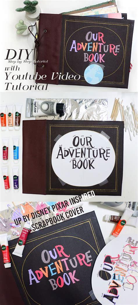 diy  disney pixar scrapbook journal  adventure book