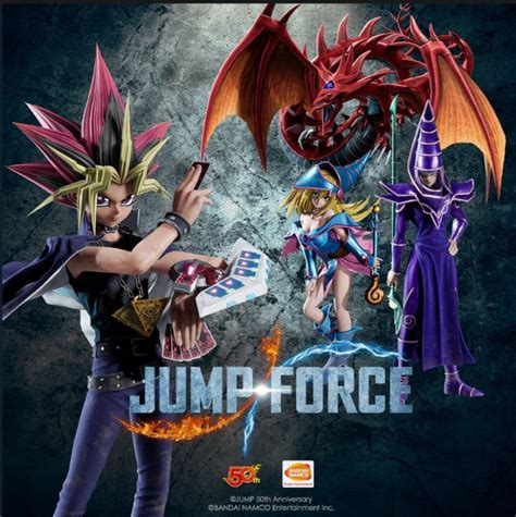 jump force introduces  characters including yu gi