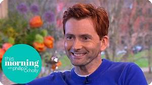 Why Has David Tennant Got Red Hair? | This Morning - YouTube