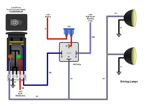 Relay Pin Wiring Diagram Schematic