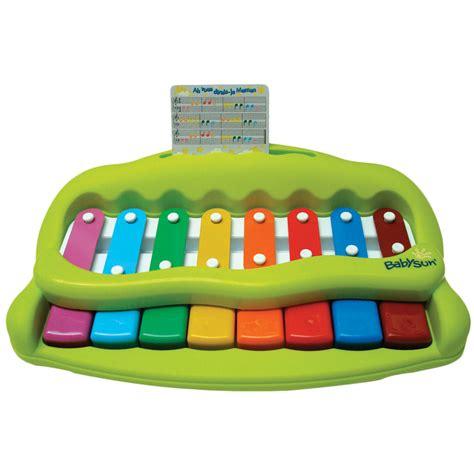 mini chambre de pousse jouet d 39 éveil bébé mon premier piano vert de babysun