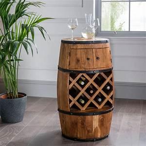 Small, Barrel, Wine, Holder